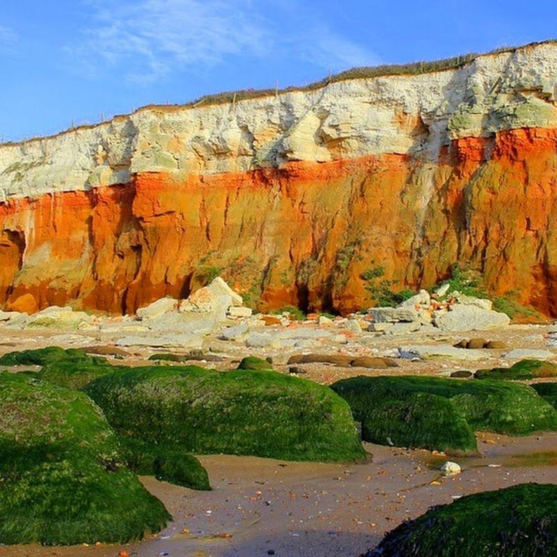 The Red Chalk Cliffs of Hunstanton