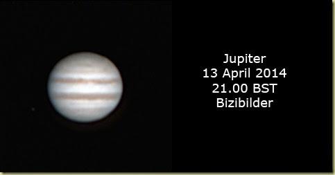13 April 2014 Jupiter