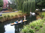 Jan 18 - Punting on the Avon, Christchurch, NZ