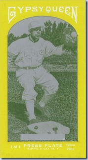 2011 Gypsy Queen Reese Yellow Printing Plate