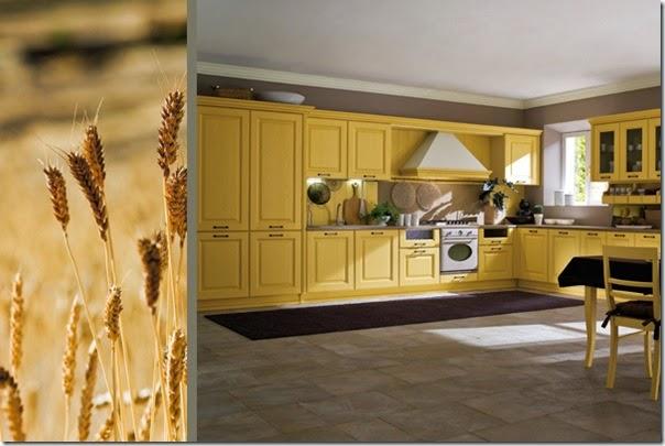 arredamento - cucine classiche - campagna - Canova-senape