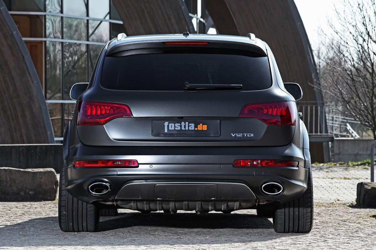 Fostlas Stealthily Wrapped Audi Q7 V12 TDI with 592horses