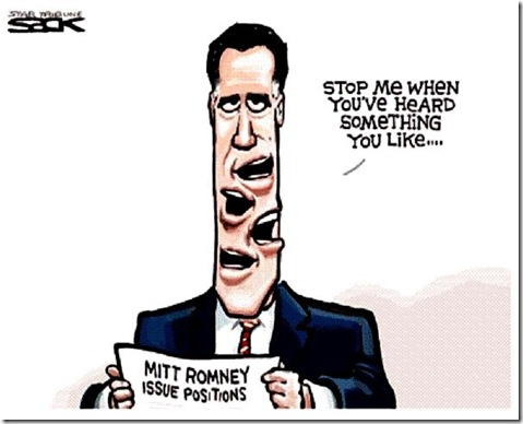 Romney say what they like toon
