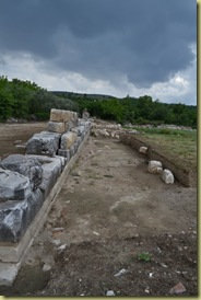 Stratonikeia excavation trench
