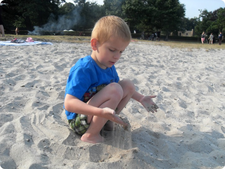 Fødselsdag på stranden - 13. juli 2013