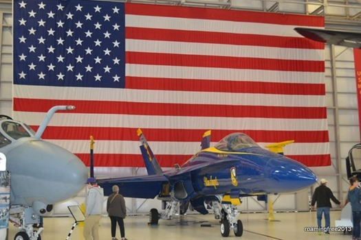 Retired Blue Angel