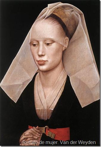 Retrato de mujer. Van der Weyden