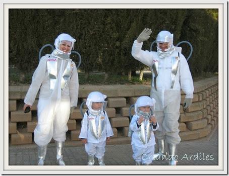 disfraz casero astronautas