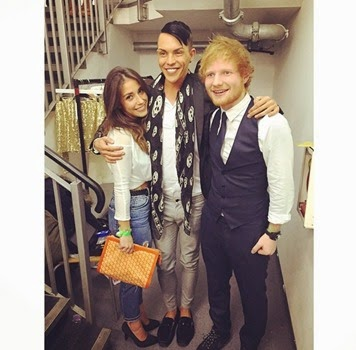 Ed Sheeran Girlfriend Athina Andrelos 4
