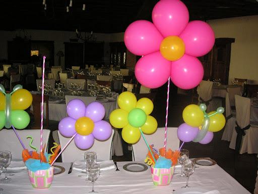 jpg centros de mesa comunion nina tags globos para fiestas comunion