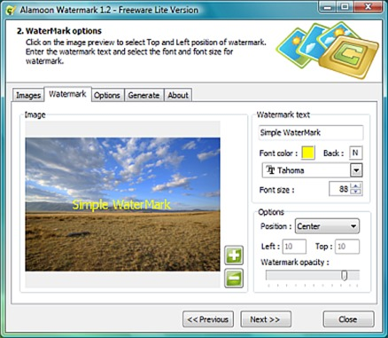 Alamoon Watermark Software