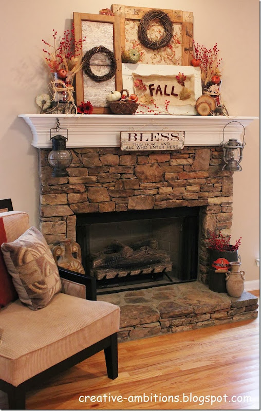 Fall Mantel 2013 (a)