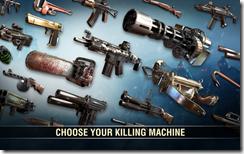 أختار سلاحك المفضل لقتل الزومبيين من بين أكثر من 30 سلاح مختلف
