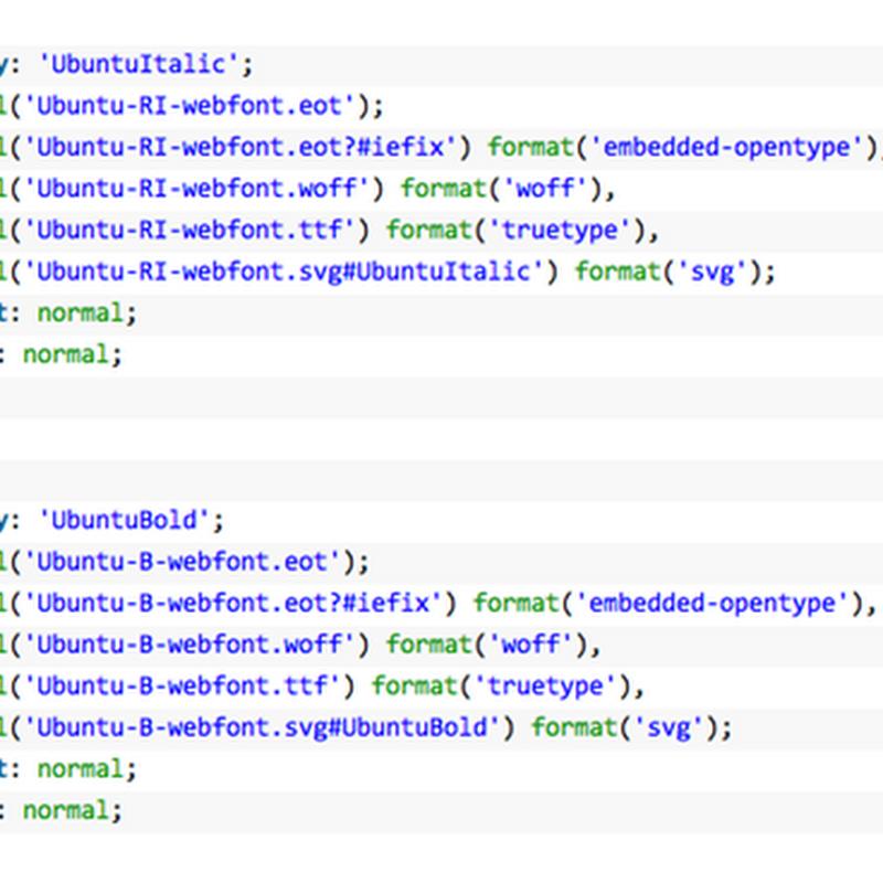Guida HTML: font personalizzati con @font-face.