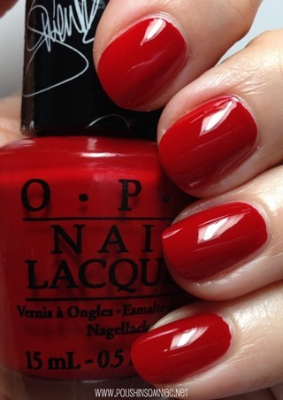 OPI Over & Over A-Gwen nail polish