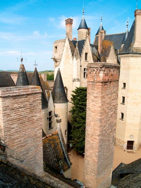 2011 08 03 Voyage France Château de Montreuil Bellay Maine et Loire