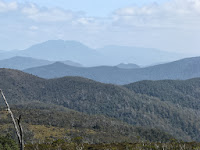 Mt Murchison and ridge lines Photo