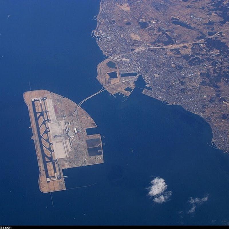 Strange Airport#2: Kansai International, Japan