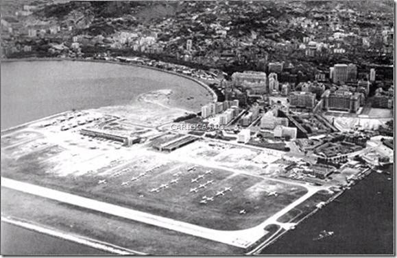 Aeroporto Santos Dumont- Década de 1950