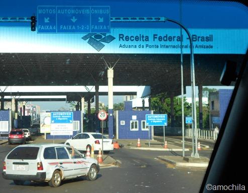 Aduana Brasileira na Ponte da Amizade