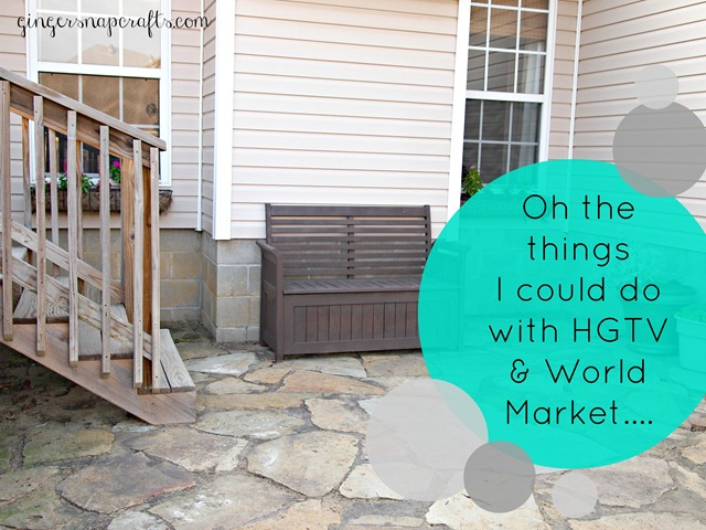 HGTV and World Market giveaway information