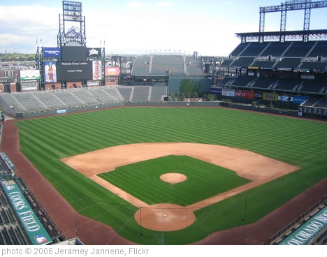 'Coors Field' photo (c) 2006, Jeramey Jannene - license: http://creativecommons.org/licenses/by/2.0/