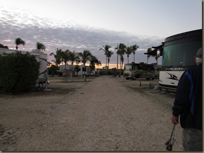 early morning at sunshine key rv park