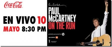 paul mccartney gratis en zocalo en vivo por coca cola tv