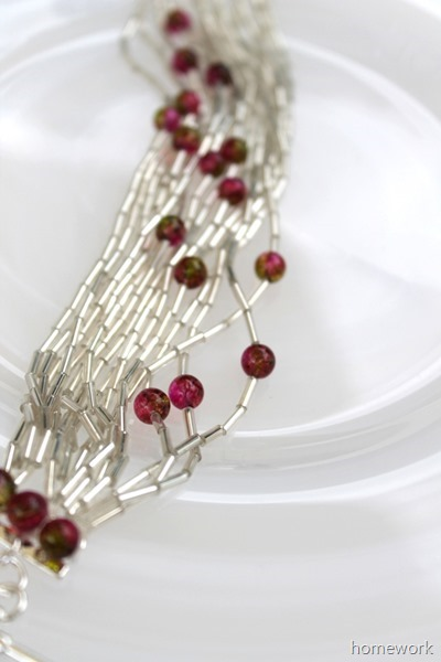 Bugle Bead Bracelet via homework (2)