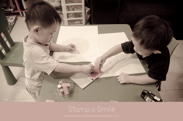 stamp a smile