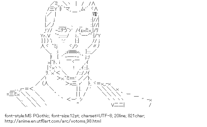 [AA]Pailsen Files (Armored Trooper Votoms)