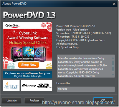 CyberLink.PowerDVD.Ultra.v13.0.Multilingual.Incl.Keymaker-CORE 8