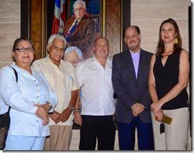 Altagracita, Pipi Delgado, Carlos Aguiló,  Eugenio Garrido y esposa