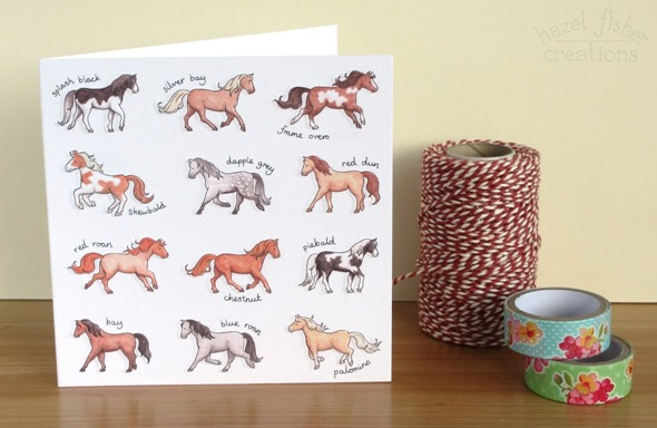 2015 March 9 phoenix trading horses card hazel fisher creations 1