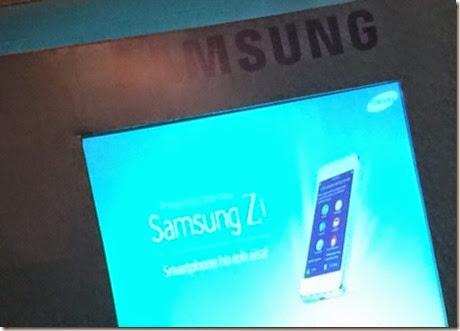Samsung Z1 Diluncurkan 18 Januari 2014, Gunakan OS Tizen