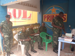 Tribunal militaire de Matadi sigeant en chambre foraine.