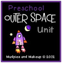 Preschool Outer Space Unit