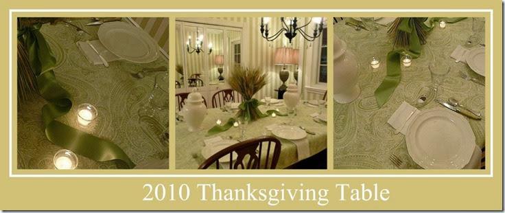 Ribbet collage b 2010 thanksgiving table