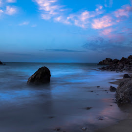 Colors of nature by Meer Baloch - Landscapes Beaches ( blue, colors, long exposure, seascape, light )