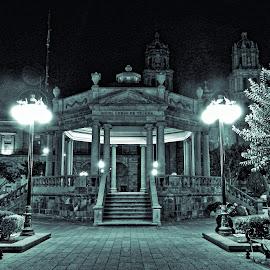 San Luis Downtown by Pablo Muniz - City,  Street & Park  City Parks