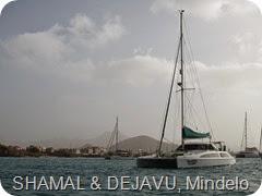 114 SHAMAL & DEJAVU in Mindelo