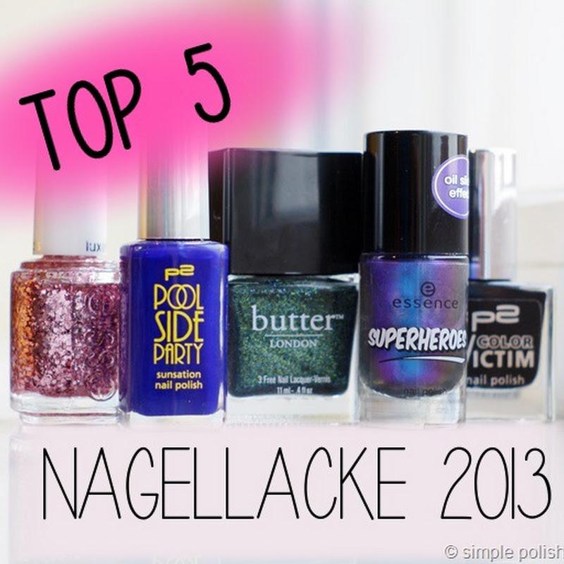 meine Top 5 Nagellacke 2013