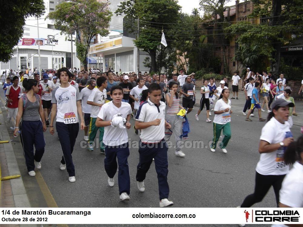 cuarto de maraton ciudad de bucaramanga 2012