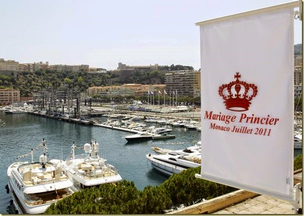 El Principado de Mónaco se ha engalanado para festejar la boda de su soberano.