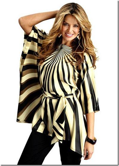 ladies_bat_sleeve_blouse_bat_wing_sleeve_blouse_printed_satin_blouse (1)