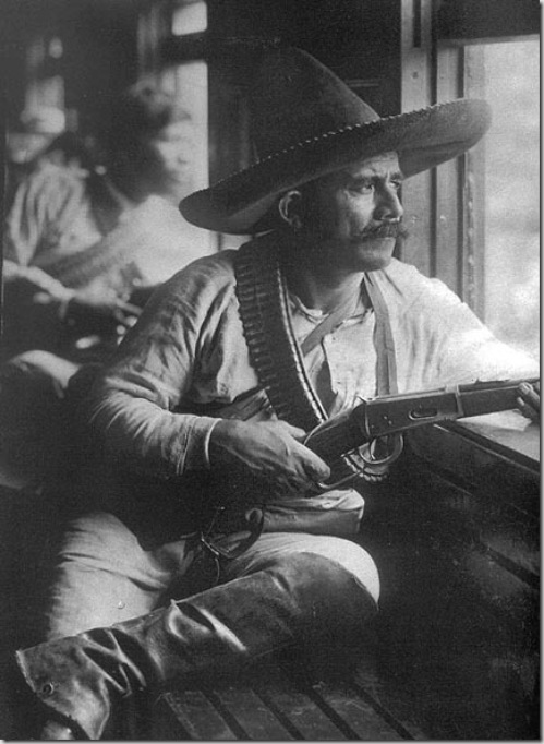 Soldier during the Mexican Revolution - 1914