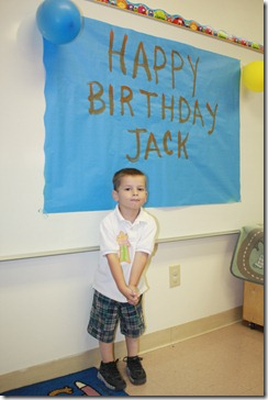 Jacks bday school 009