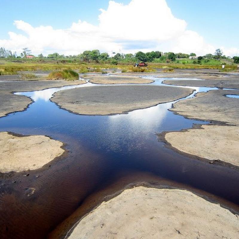 Pitch Lake, Trinidad - The Largest Natural Deposit of Asphalt
