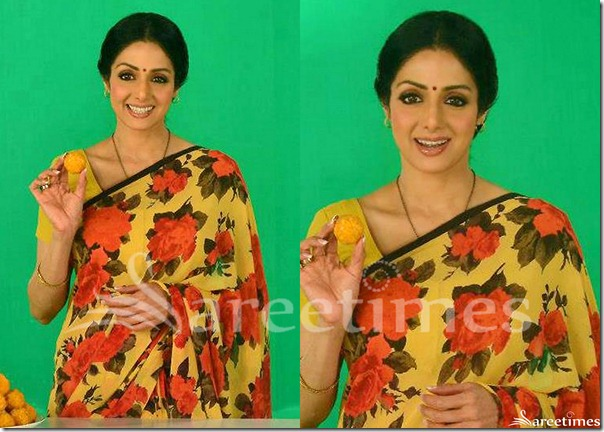 Sridevi_Floral_Printed_Work_Saree
