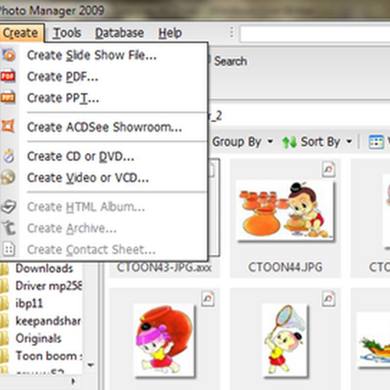 แปลงไฟล์รูปภาพ jpg เป็น pdf แบบง่าย ๆ ด้วยโปรแกรม ACDsee